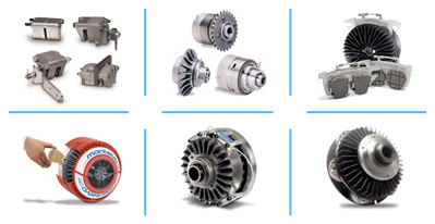 pneumatic and hydraulic clutches and brakes